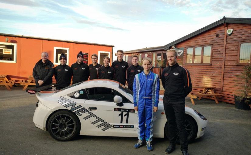 British Schools Karting Championship victor Ethan Brooks wins Ginetta Junior Scholarship