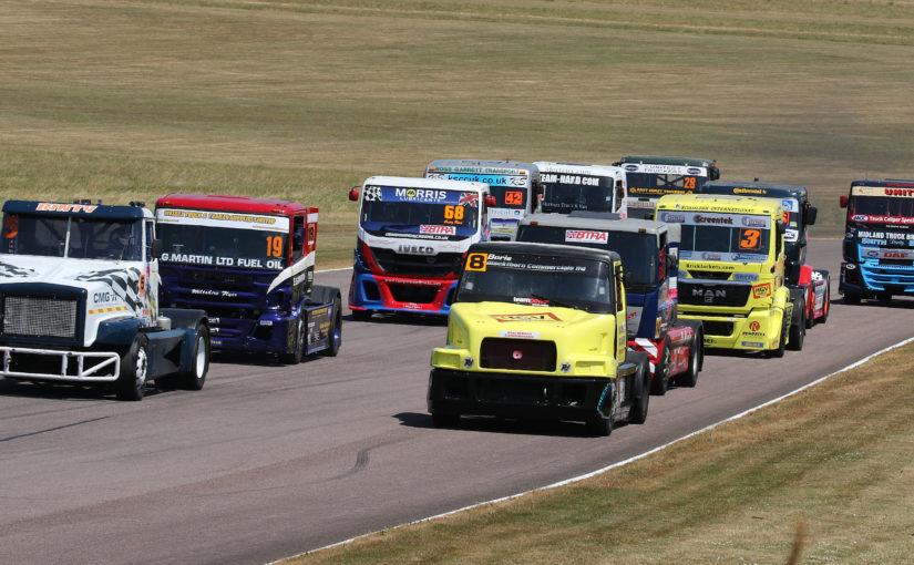 BARC serves up scorching weekend at Thruxton Summer Truckfest