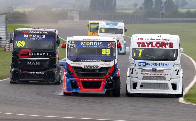 British Truck Racing Association Championship stars on memorable BARC weekend at Snetterton
