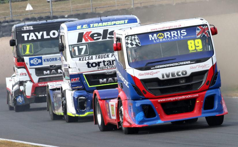 British Truck Racing Association Championship headlines bumper BARC event at Snetterton