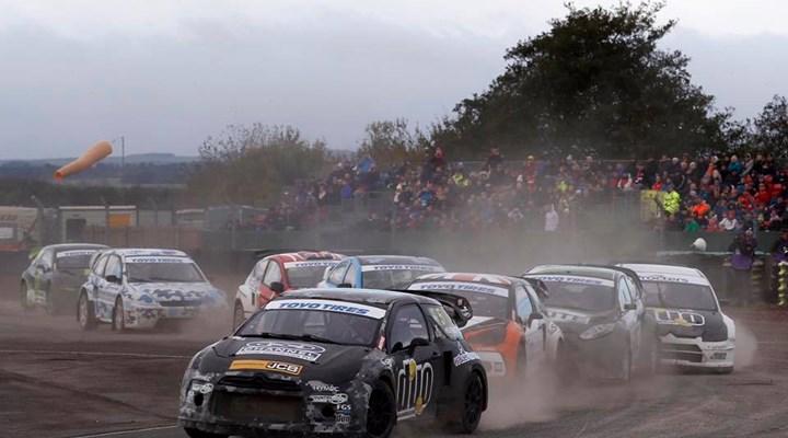 Star-studded entry list confirmed for British Rallycross season-opener