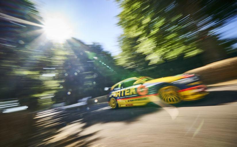 Andrew Jordan wins BTCC shootout at Goodwood Festival of Speed