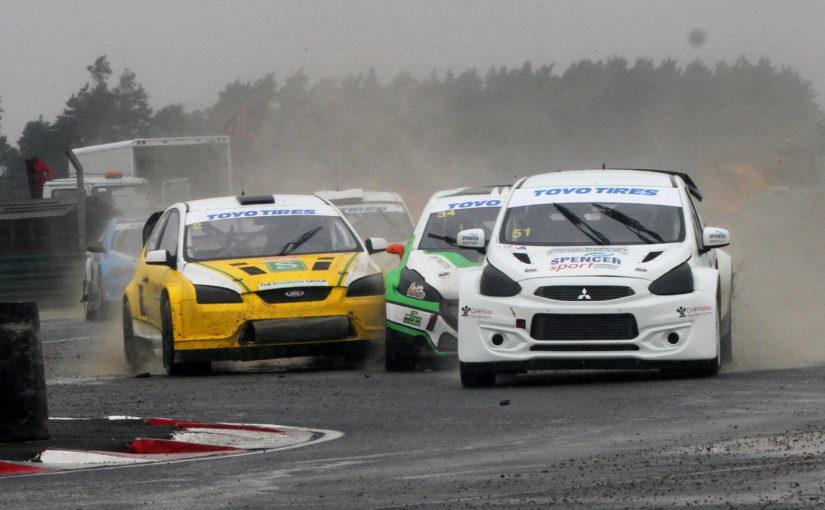 Julian Godfrey wins at Croft to take British Rallycross Championship points lead