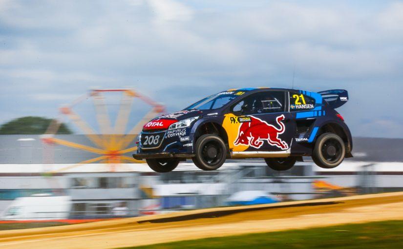 Timmy Hansen claims FIA World Rallycross Championship victory at Silverstone
