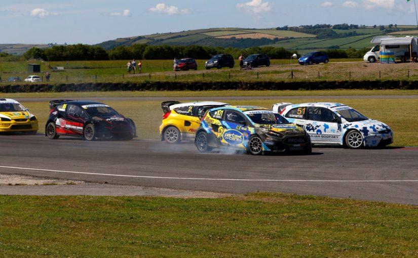 Julian Godfrey and Derek Tohill share British Rallycross Championship spoils at Pembrey