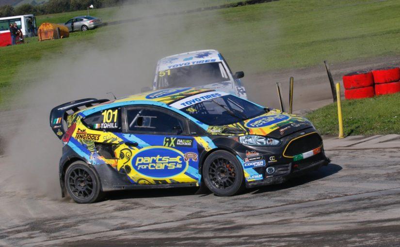 Derek Tohill triumphs at Pembrey to take British Rallycross Championship fight down to the wire