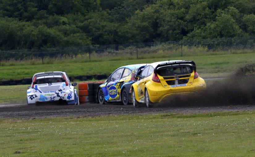 British Rallycross Championship title battle speeds back to Pembrey