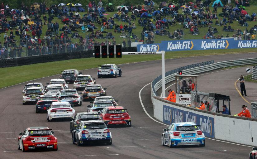 Thruxton BTCC race meeting to be run behind closed doors