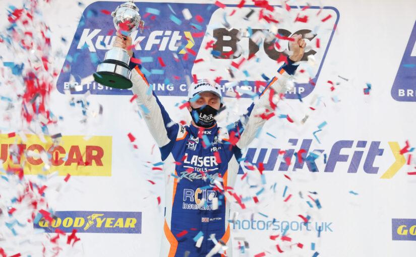Ashley Sutton crowned two-time BTCC champion at Brands Hatch finale
