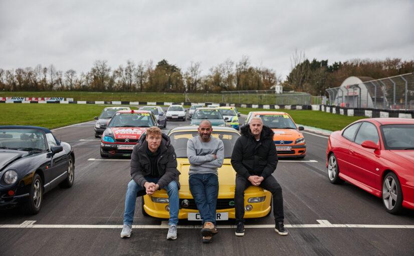 Junior Saloon Car Championship stars on Top Gear