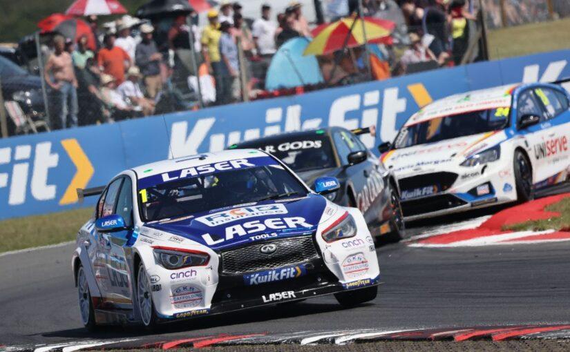 BTCC battle speeds into Brands Hatch