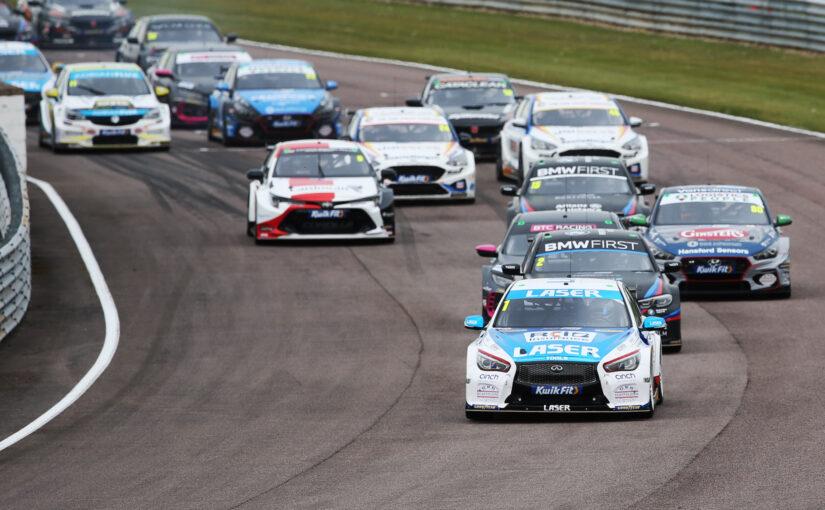 BTCC speeds back to Thruxton for second time this season